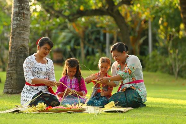 Familienurlaub im Ayodaya Resort Bali