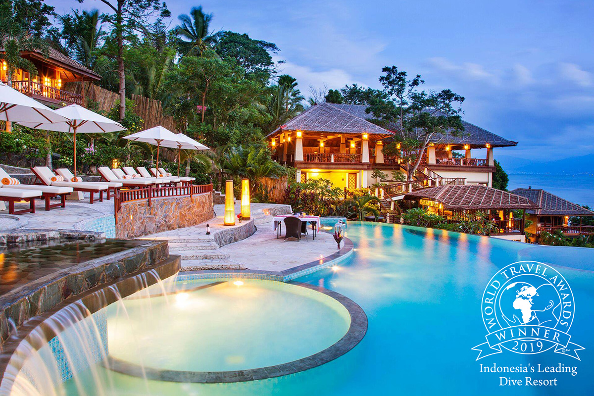 Luftaufnahme Volivoli Beach Resort, Fiji, Mitglied der Best Boutique Collection