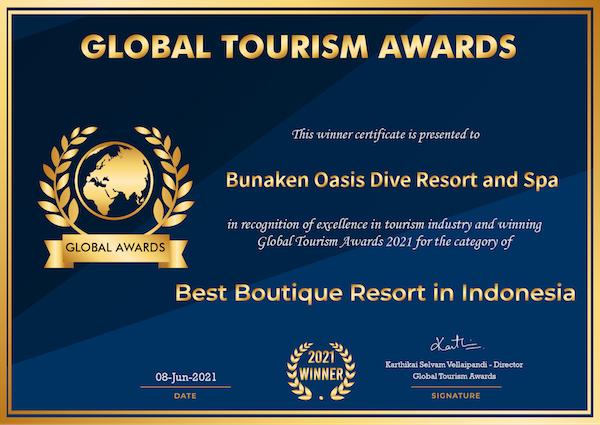 Global Travel Awards Zertifikat