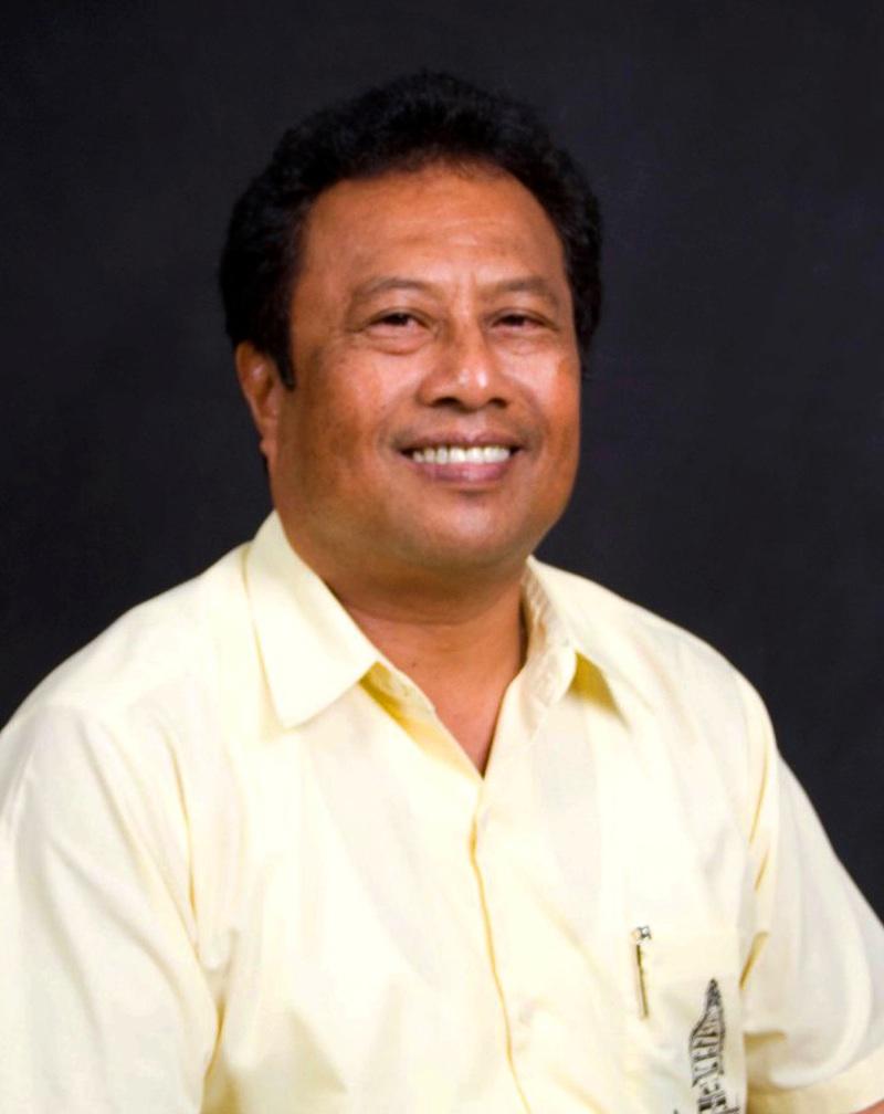 Präsident Remengesau Palau
