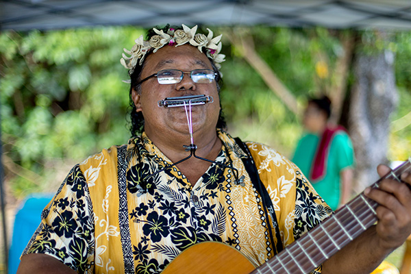 Traditionelle Musik Palau