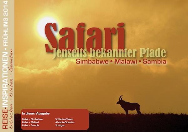 Reisemagazin Safari Zentralafrika