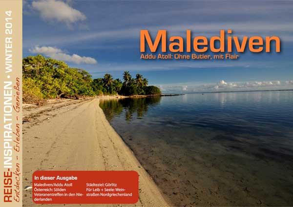Reisemagazin Malediven