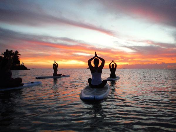 Yoga-Kreuzfahrten in Indonesien