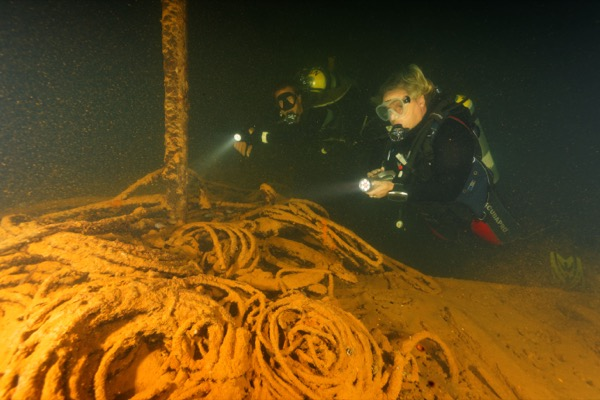 Das Wrack der Iro Maru in Palau