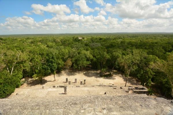 Mayastätte Calakmul