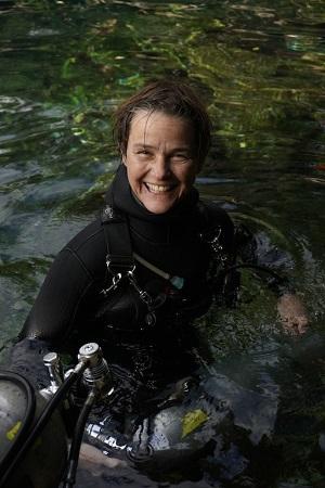 Christine Loew - Neu im Team bei Yucatan Dive Trek