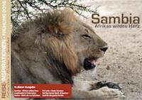 Reisemagazin Sambia
