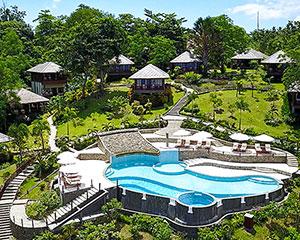 Bunaken Oasis Dive Resort Luftaufnahme