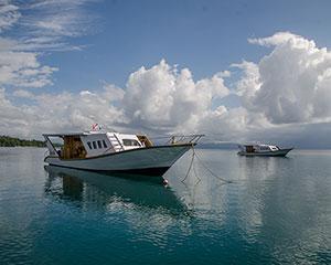 Bunaken Oasis Dive Resort Tauchboote