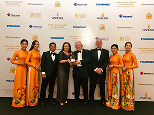 World Travel Awards 2019 Preisübergabe