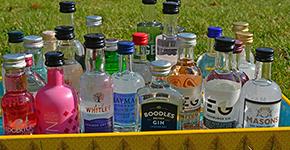 Ginflaschen Adventskalender