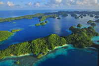 Hubschraubertour Palau