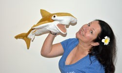 Selfie mit Hai