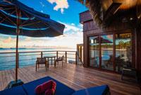 Palau Pacific Resort Sonnendeck