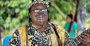 Palau traditionelle Musik © Palau Visitors Authority/Davor Rostuhar