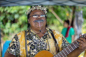 Palau traditionelle Musik © Palau Visitors Authority/Davor Rostuhar